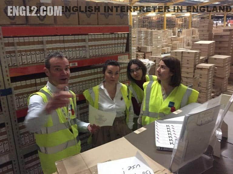 Russian interpreter for a Charity organization trip to the United Kingdom